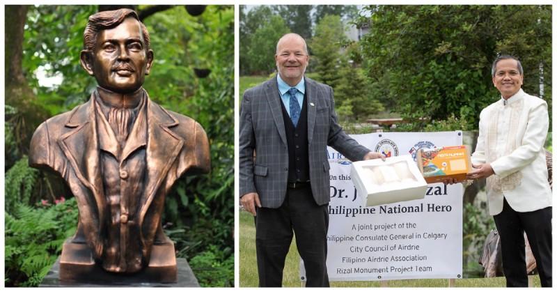 Canada Dr. Jose Rizal sculpture Toym Imao