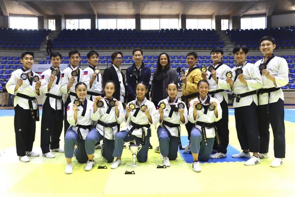 Team Philippines Asian Taekwondo Poomsae tilt