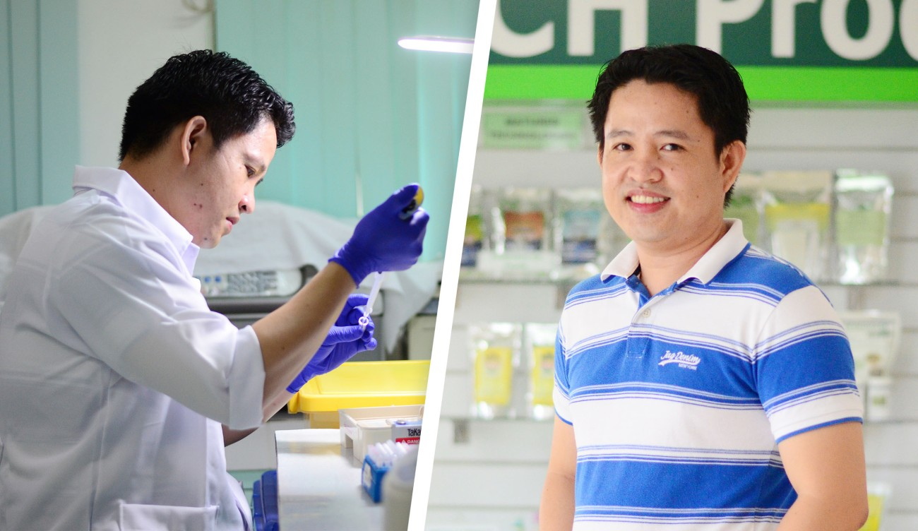 Dr. Rodney Perez Young Asian Biotechnologist