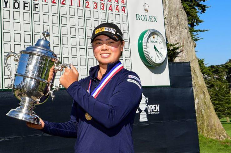 Yuka Saso US Women's Open champion