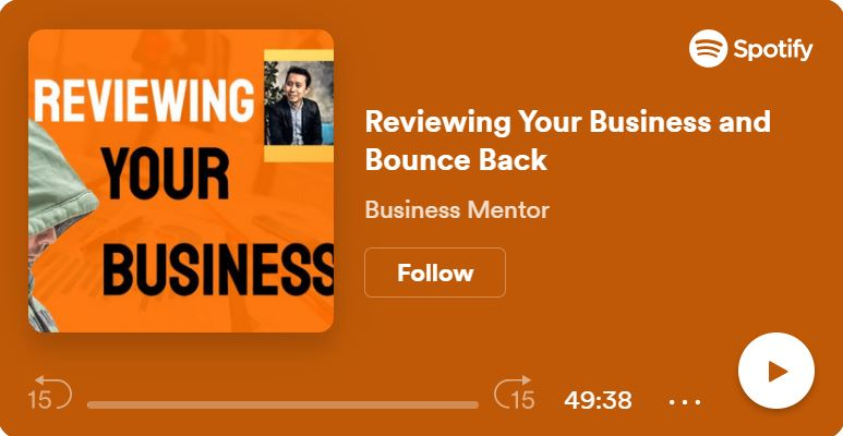 Business Bounce Back  Butz Bartolome Podcast