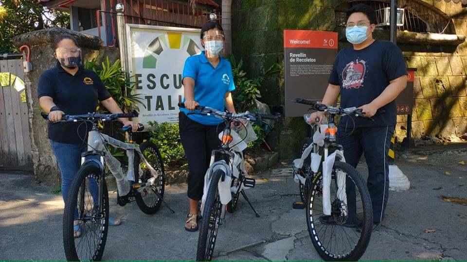 Crowdsourcing build bikes heritage workers