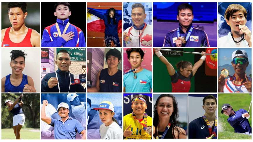 19 Filipinos campaigning Philippines 1st Olympic Gold