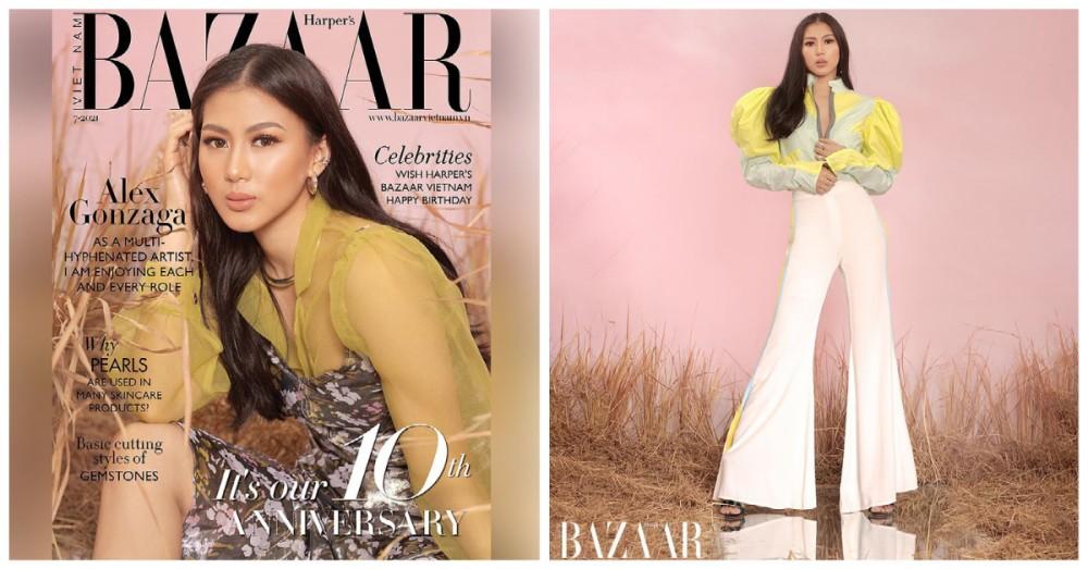 Alex Gonzaga Harper's Bazaar Vietnam magazine cover