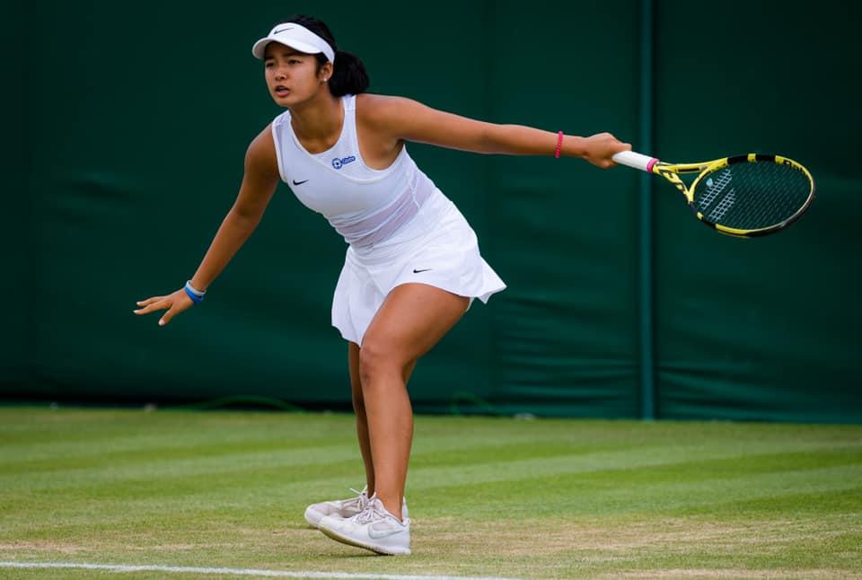 Alex Eala Wimbledon debut