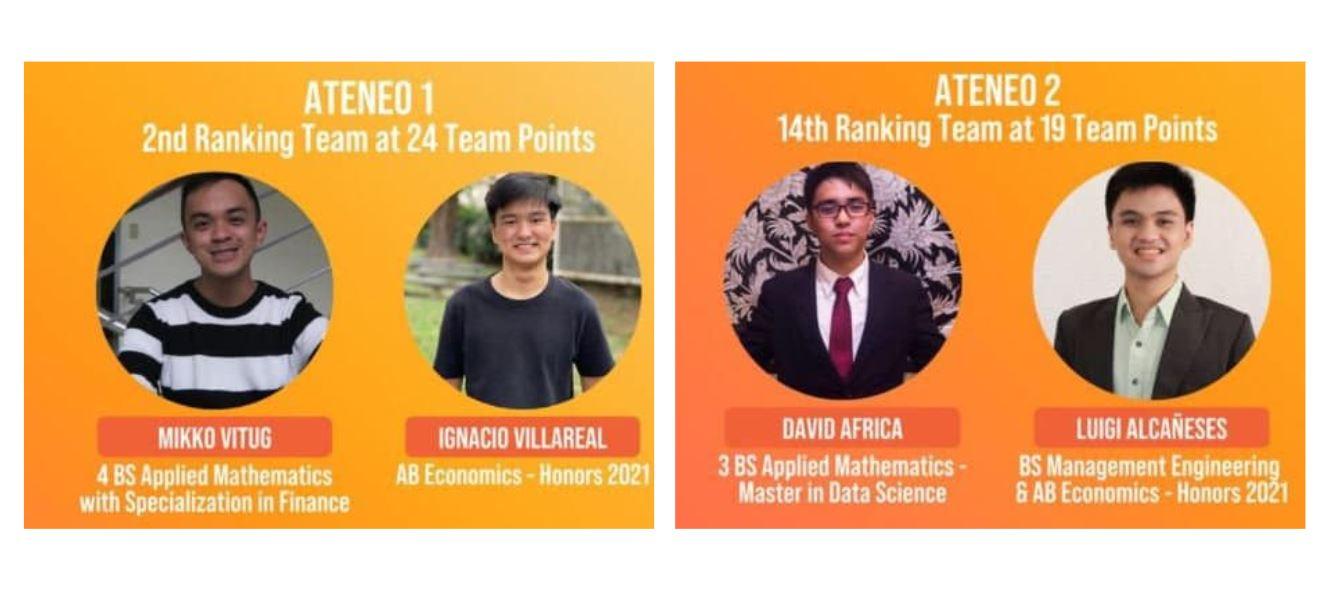 Ateneo students World Universities Debating Championships