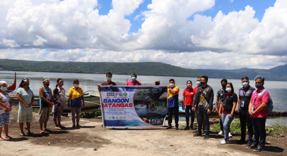 Batangas State Univesity  Taal Volcano community rehab