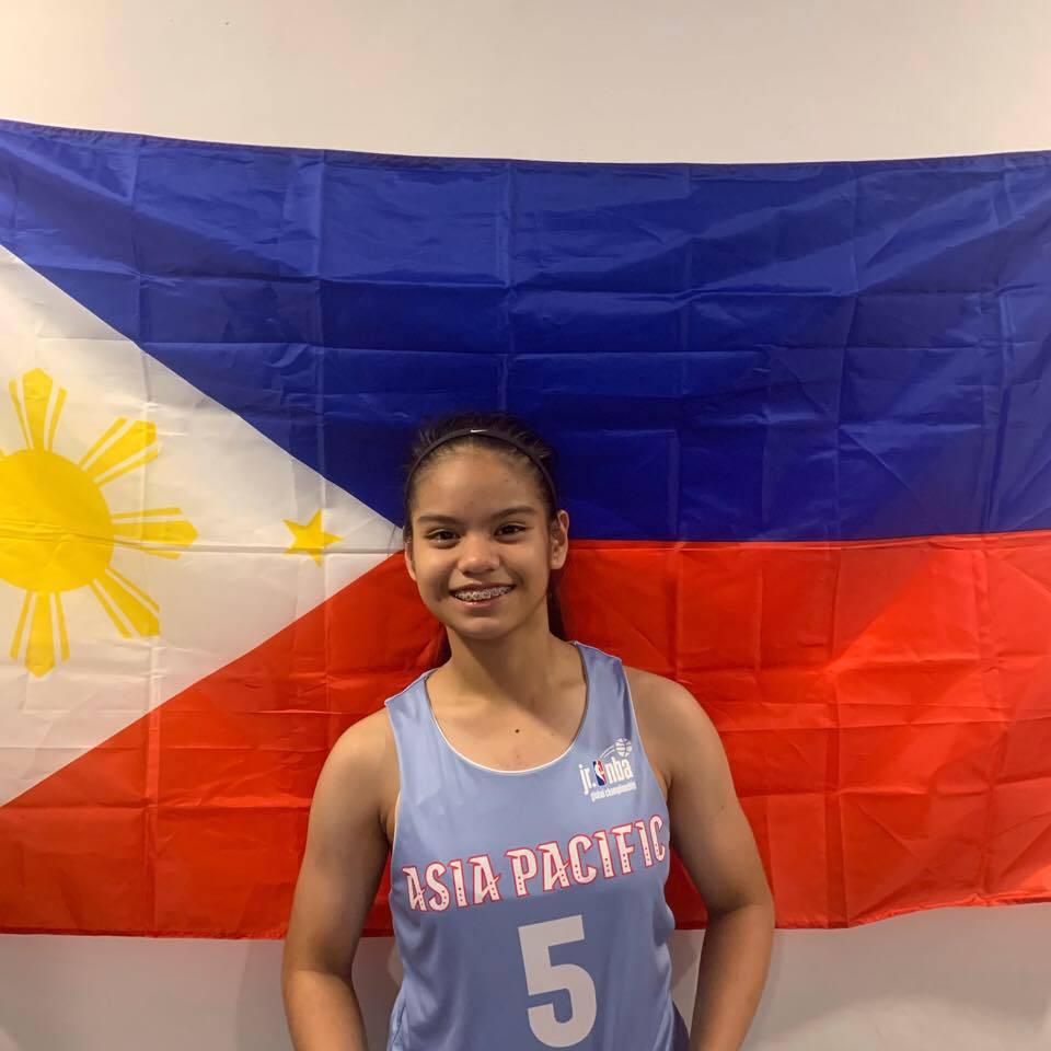Camille Nolasco NBA Academy Women's Basketball
