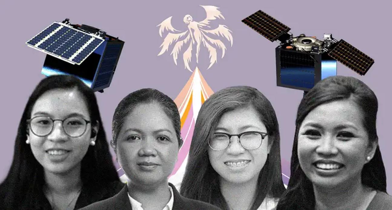 space engineers of the Philippines' MULA satellite