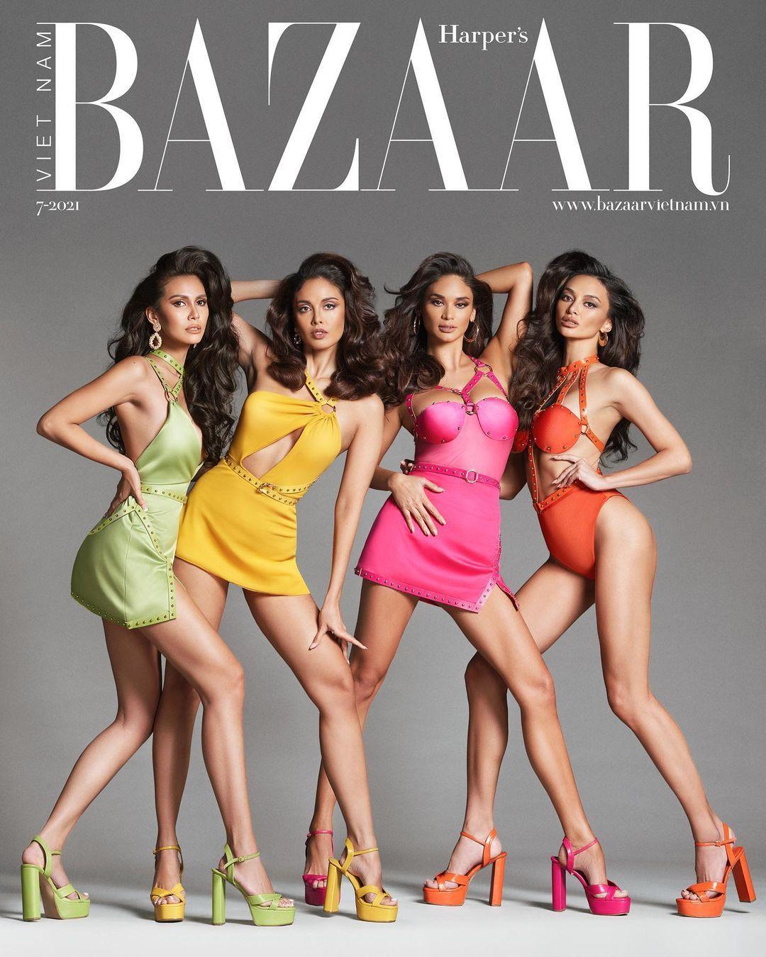 Filipina beauty  Harper's Bazaar Vietnam magazine cover