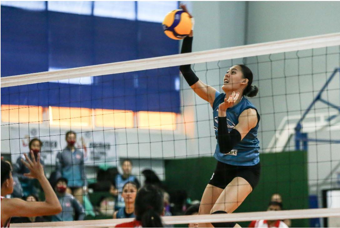 Jaja Santiago  volleyball League