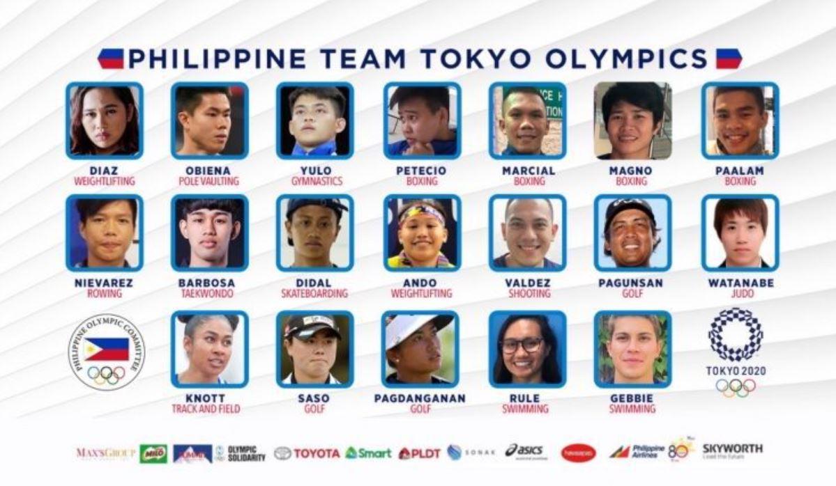 Filipino Olympians Compete Tokyo Olympics