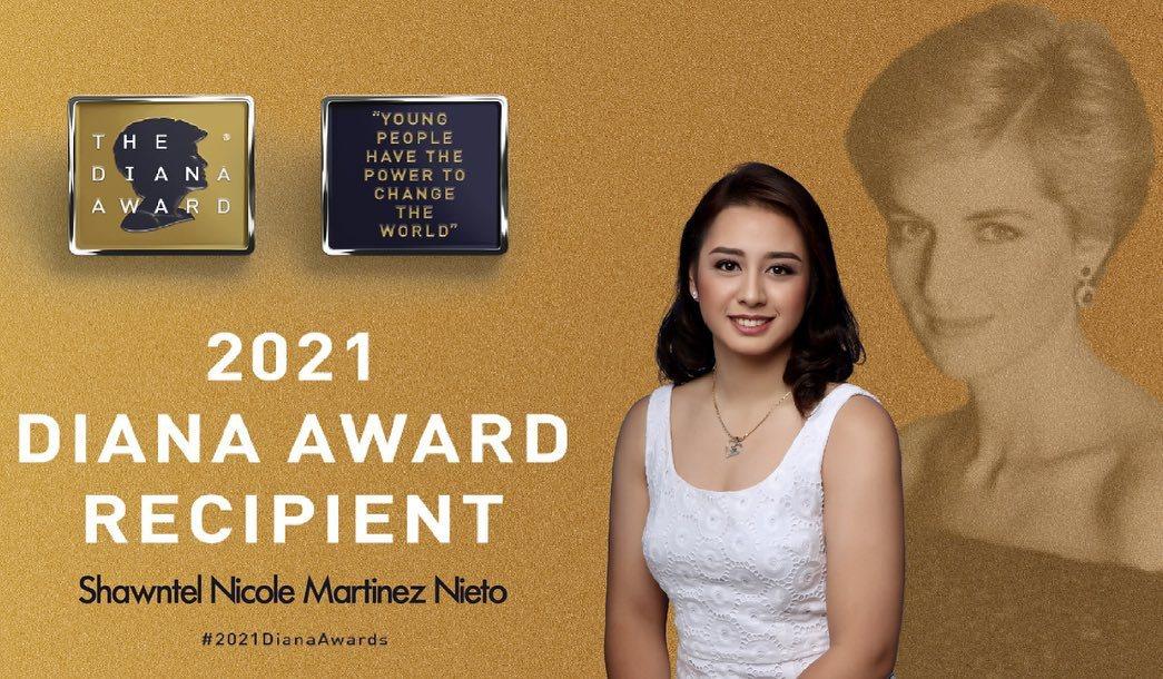 Shawntel Nicole Nieto Diana Award