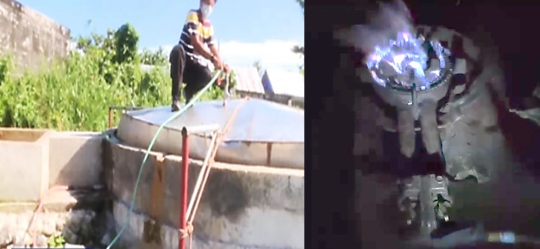 Legazpi City Bicol First biogas fuel for