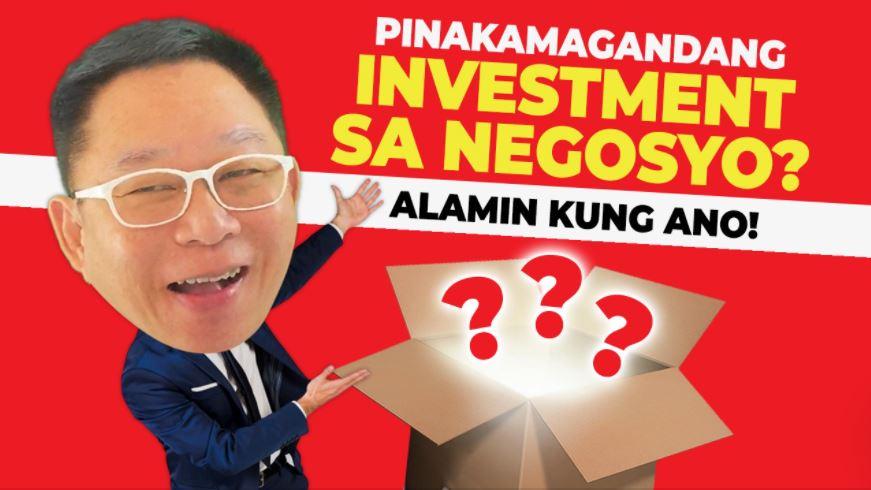 PINAKAMAGANDANG INVESTMENT Chinkee Tan
