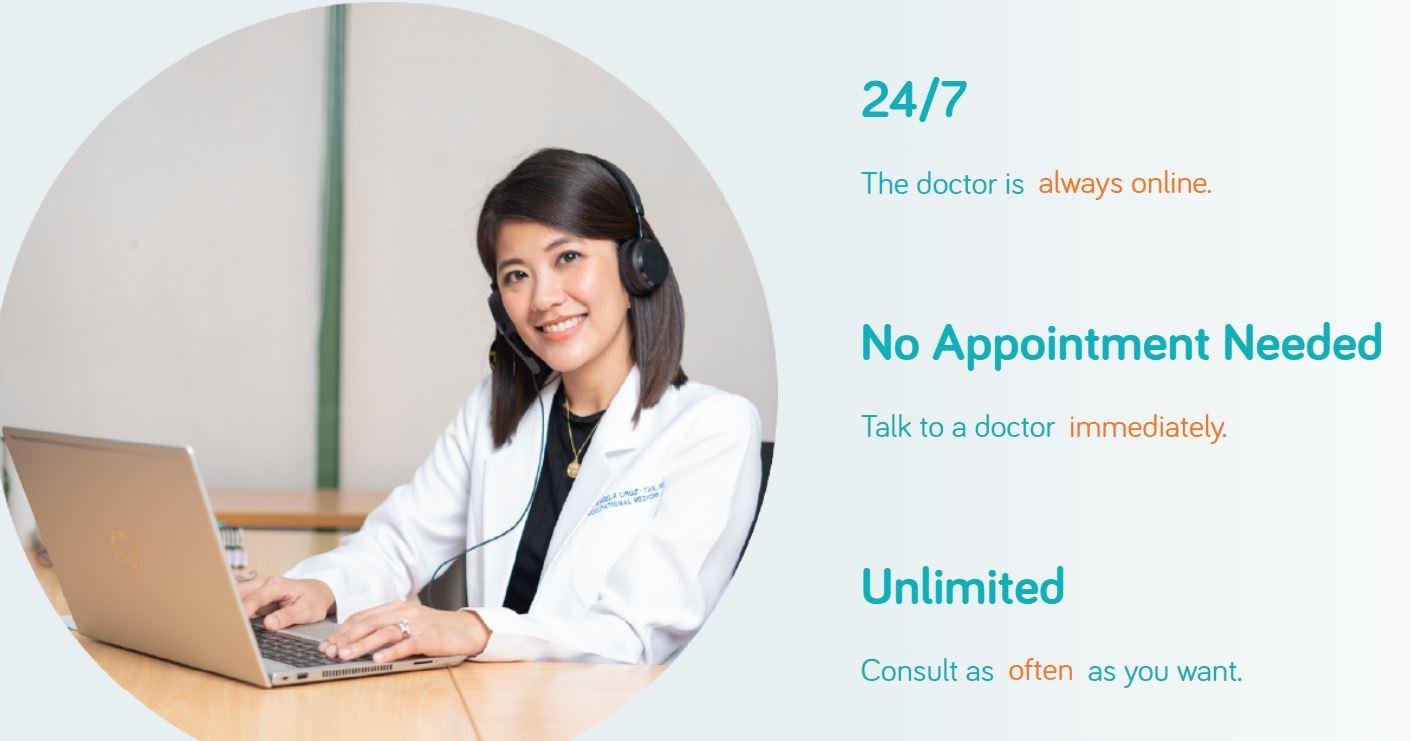 Telemedicine service KonsultaMD healthcare