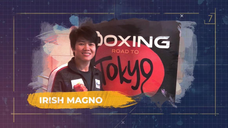 Irish Magno boxer Olympics