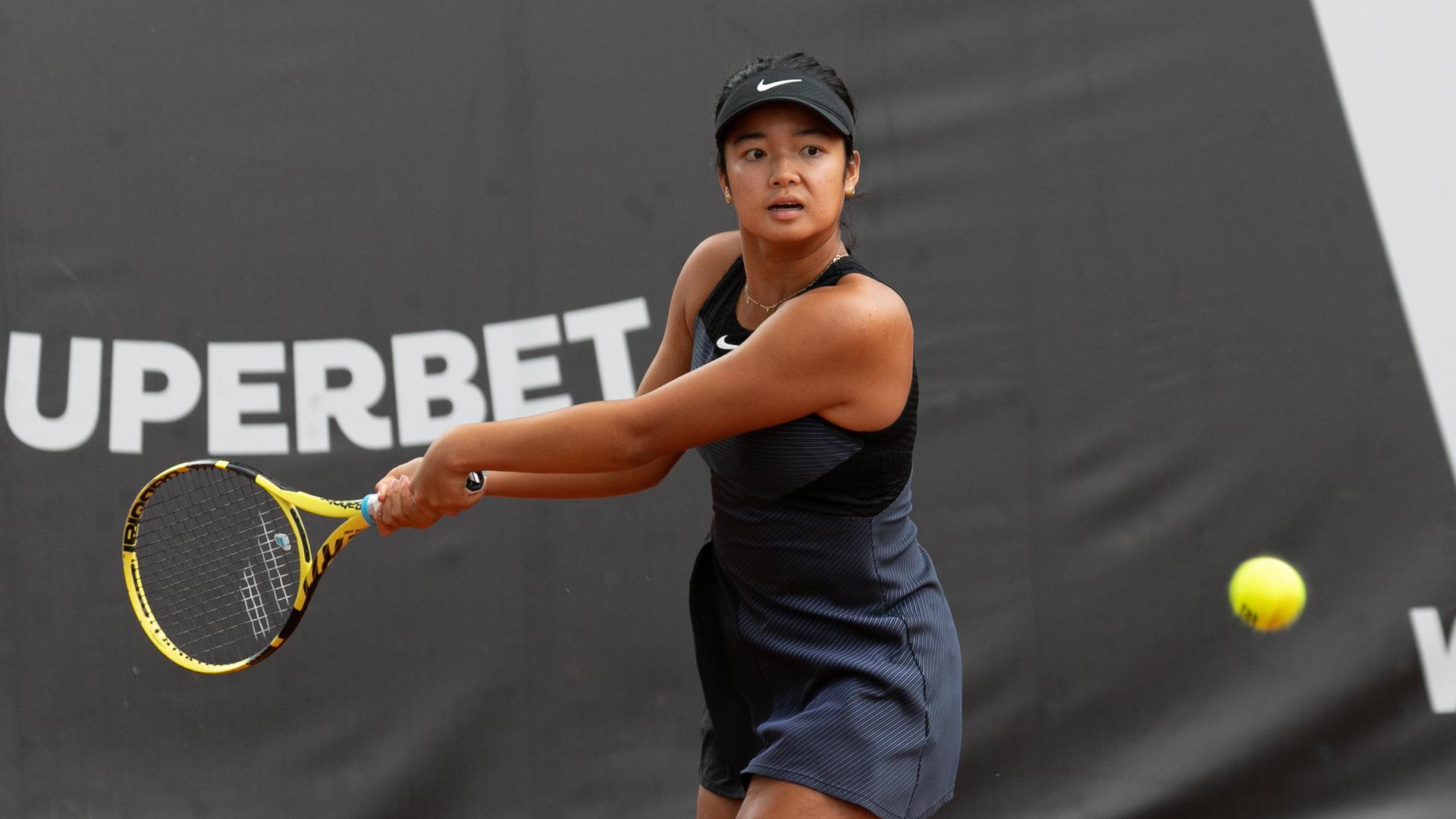 Alex Eala women's tennis rank