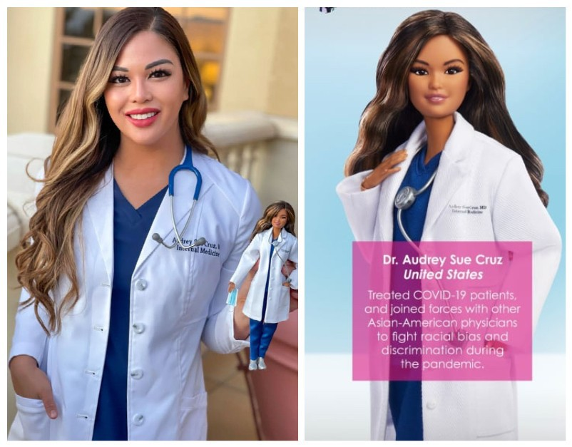Dr. Barbie doll anti-Asian hate