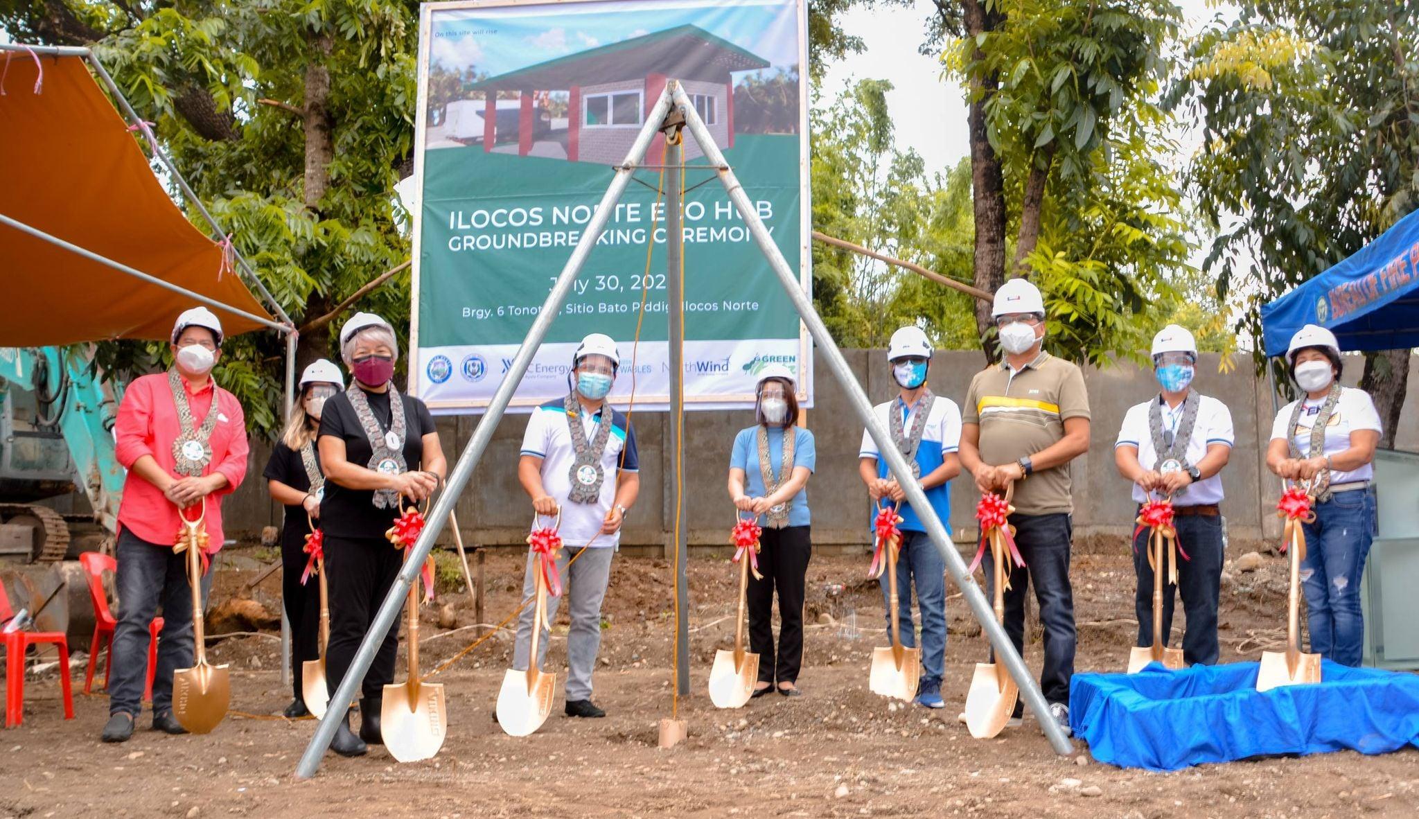 Ilocos Norte recycling facility eco-bricks