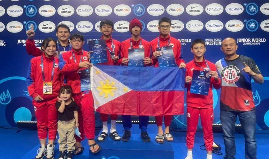 Philippine wrestlers World Championships Russia