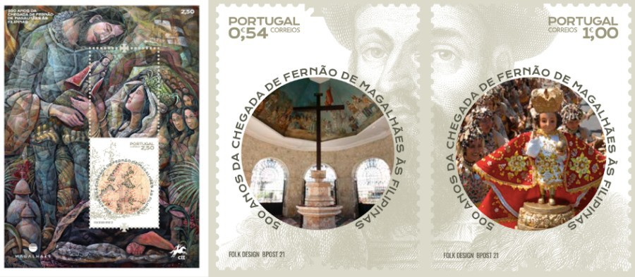 Portugal Post Office Philippine-themed stamps