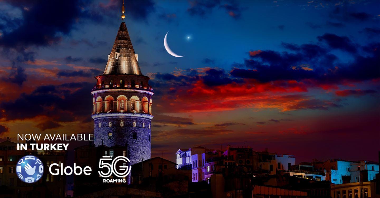 Globe 5G roaming expansion