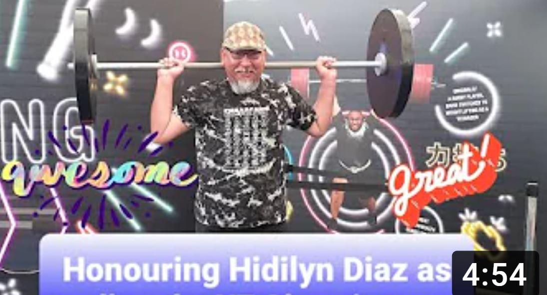 Hidilyn Diaz Olympic Gold Medalist