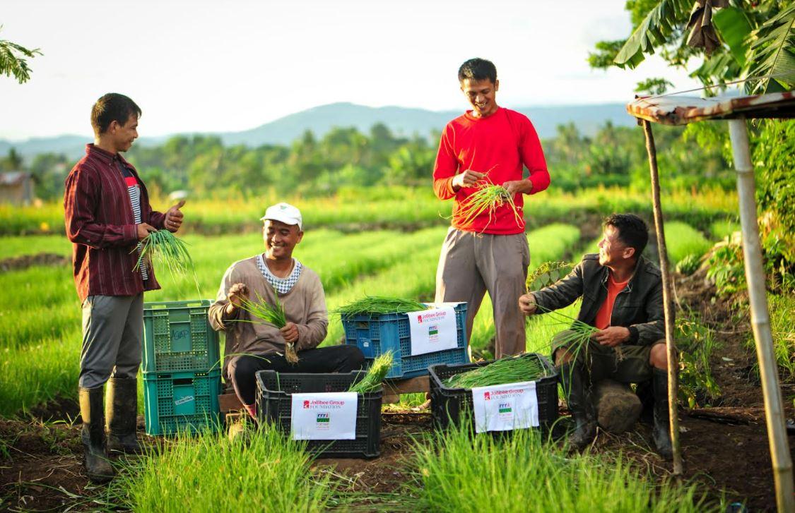 Jollibee Group Foundation farmer groups