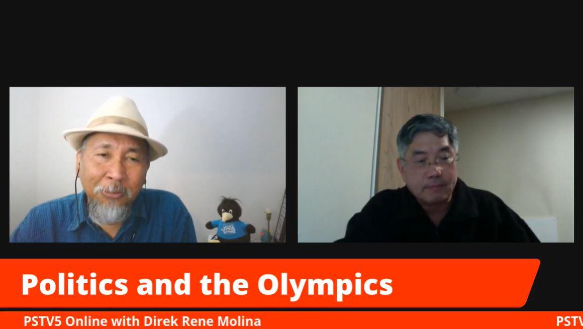 Dr. Alex Tan Politics and the Olympics