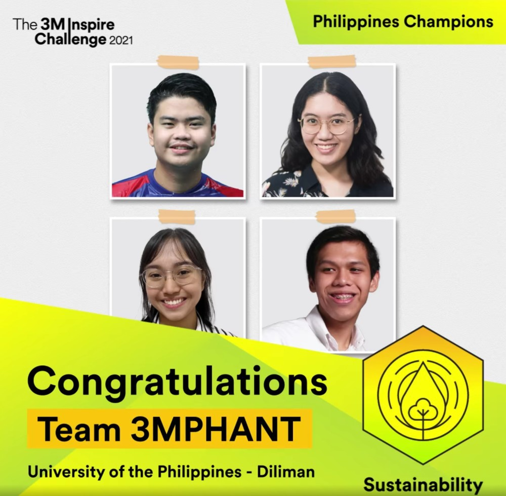 UP Diliman students Country Champions