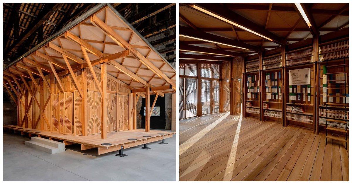 GK community library Venice Architecture Biennale award