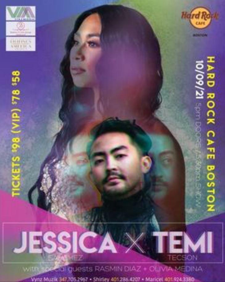 Jessica Sanchez Hard Rock Boston concert