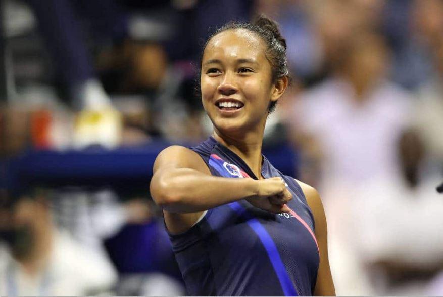 Leylah Annie Fernandez US Open Tennis finals