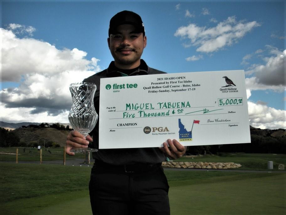 Miguel Tabuena U.S. championship