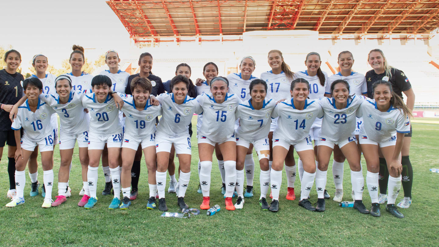 Philippines' Malditas AFC Women's Asian Cup