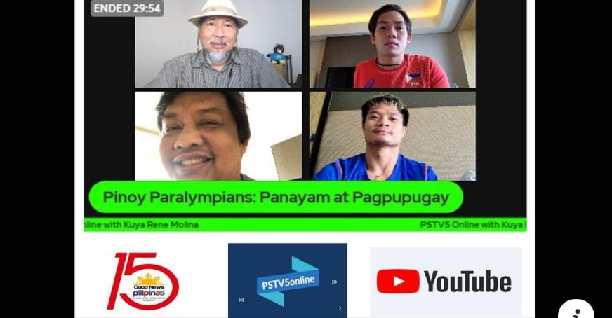 Pinoy Paralympians swimming team