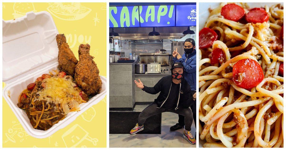 Pogiboy's Pinoy-style spaghetti Best Bites
