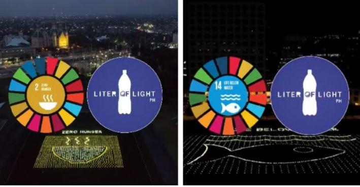 Filipino global movement giant solar artworks