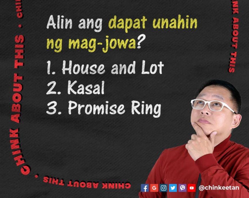 Chinkee Tan Bumili O Magpatayo Ng Sariling Bahay?