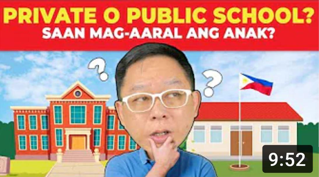 PRIVATE O PUBLIC SCHOOL Chinkee Tan