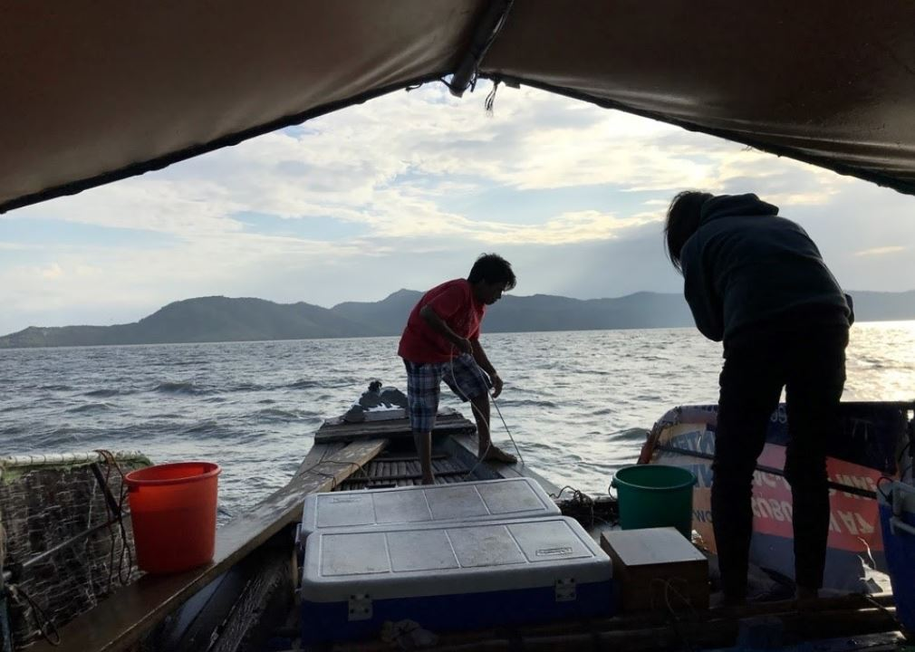 Philippines' lakes water resource