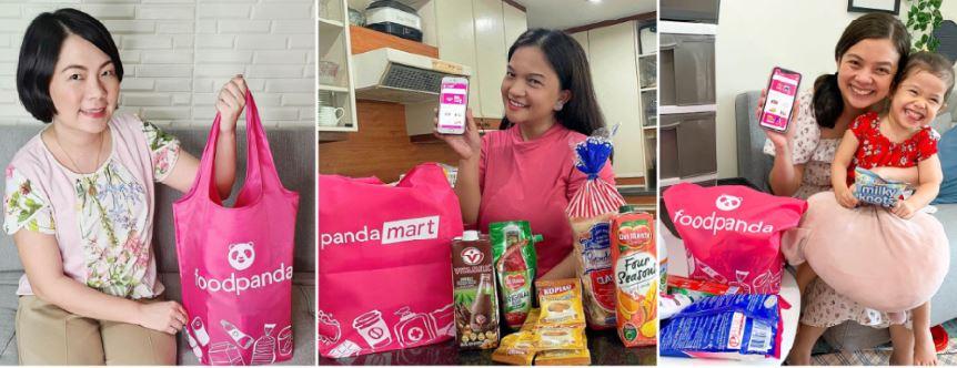 Foodpanda pandamart online store