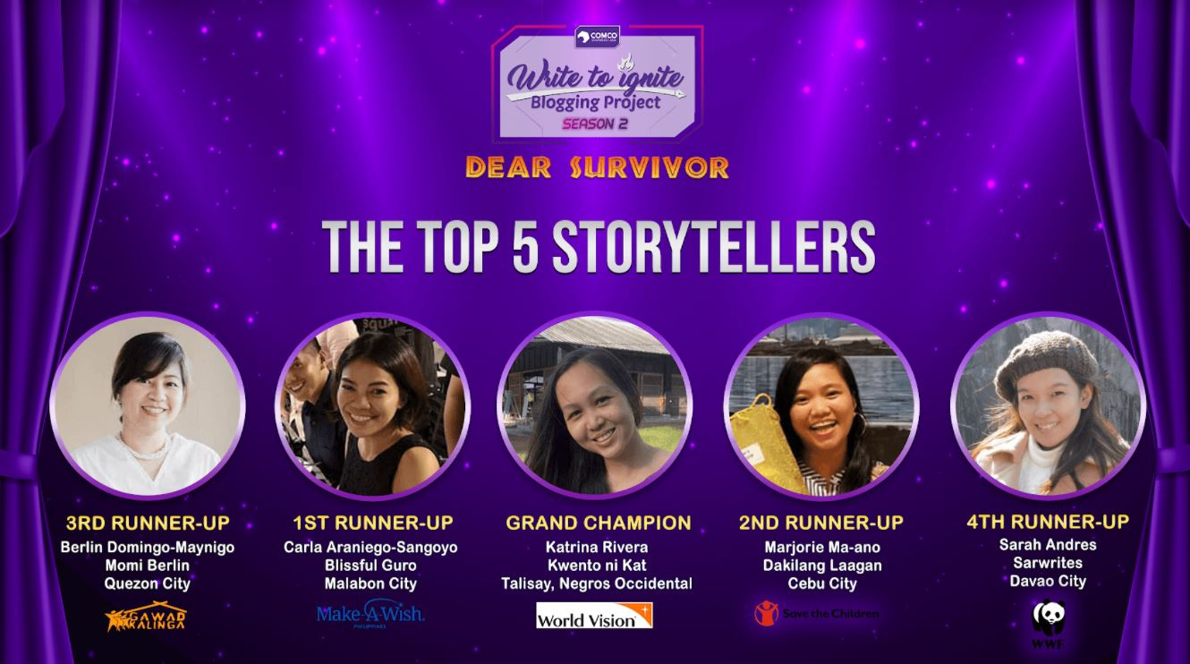 Bloggers' stories of survival