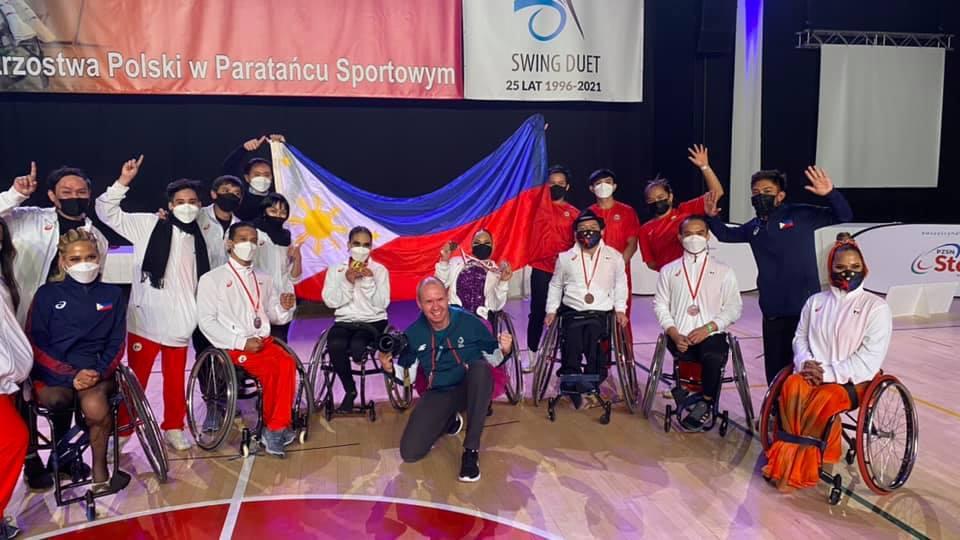 Filipino para dancesport  Polish World Qualifiers