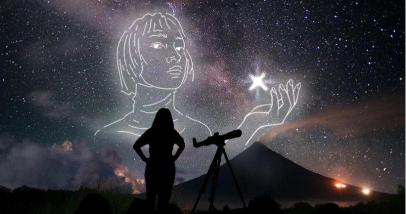 Filipina women World Space Week